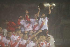 Hinchas y jugadores celebraron eufóricos la nueva Copa. Foto:Getty Images