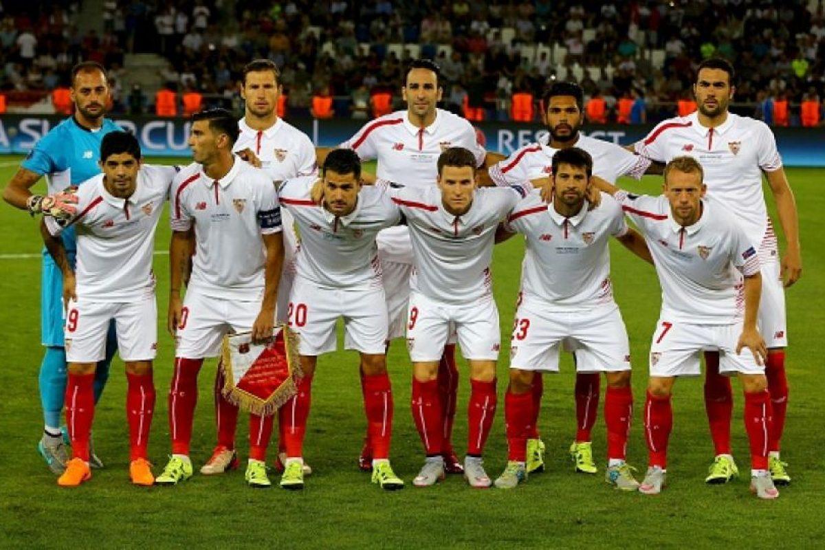 16. Sevilla FC / Sevilla / DT Unai Emery / Estadio Ramón Sánchez Pizjuán. Foto:Getty Images