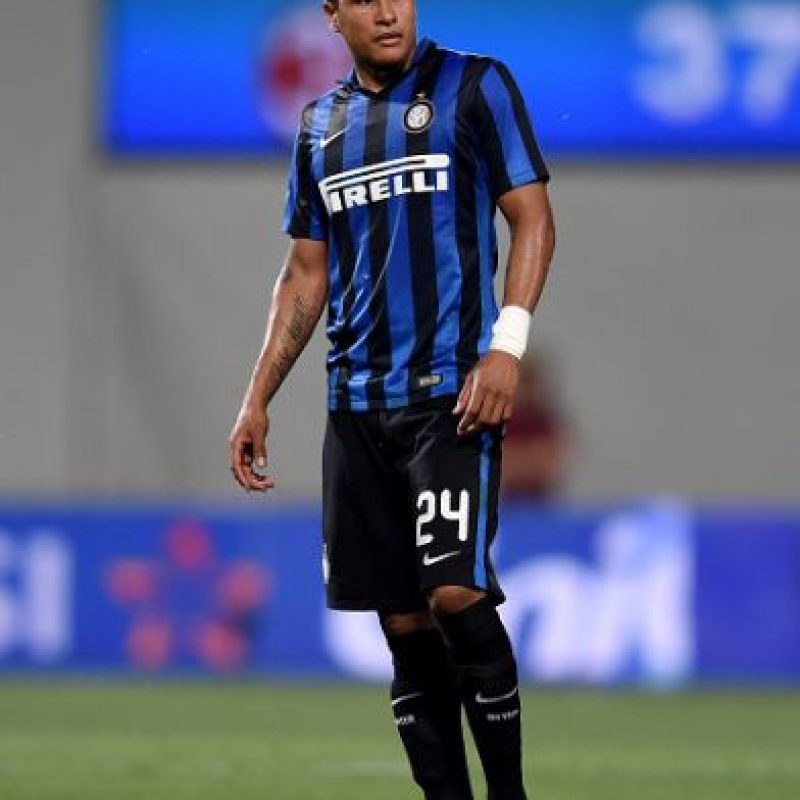 El colombiano dejó al Granada para ir al Inter de Milán. Foto:Getty Images