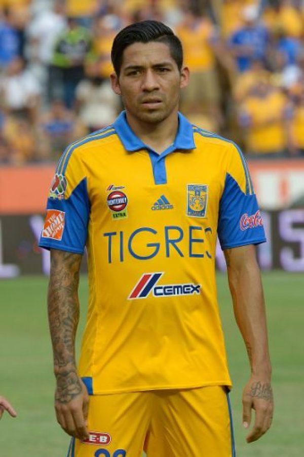 El mexicano volvió a su país para jugar con Tigres, subcampeón de la Copa Libertadores. Foto:Getty Images