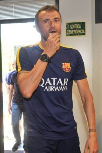 También acudió Luis Enrique. Foto:Getty Images