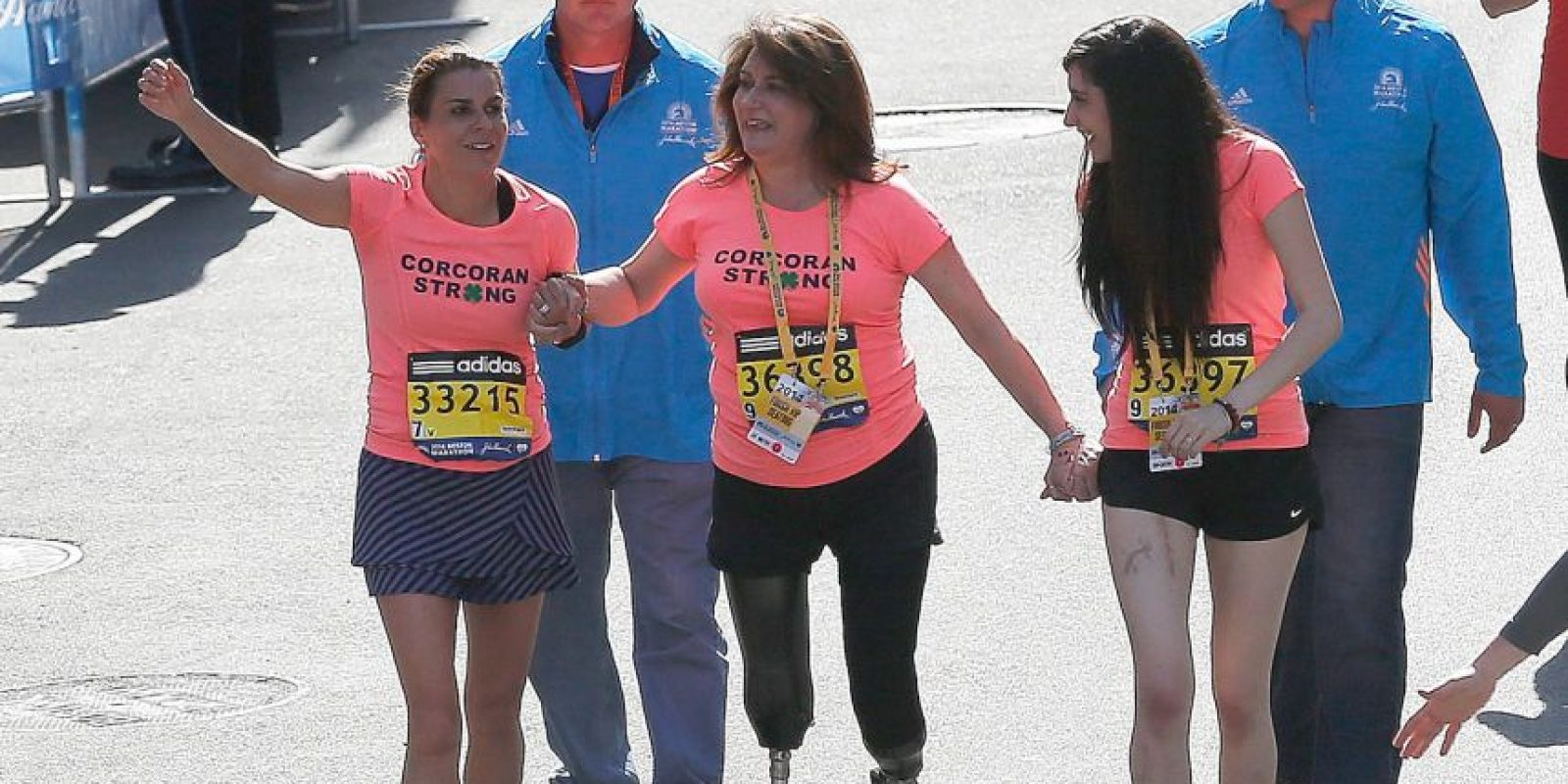 El primer maratón después de la tragedia: 21 de abril de 2014 Foto:Getty Images