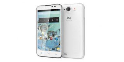 Aquaris 5. Desde 150 dólares. Es una marca española de celulares. Tiene un procesadore Quad-Core de 1.2GHz, 1GB de RAM y 16GB de almacenamiento Foto:Aquaris