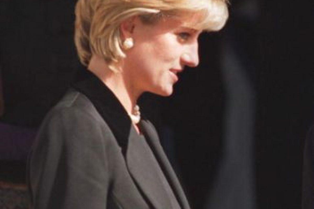 Diana de Gales, en un evento. Murió en un accidente en París. Foto:vía Getty Images