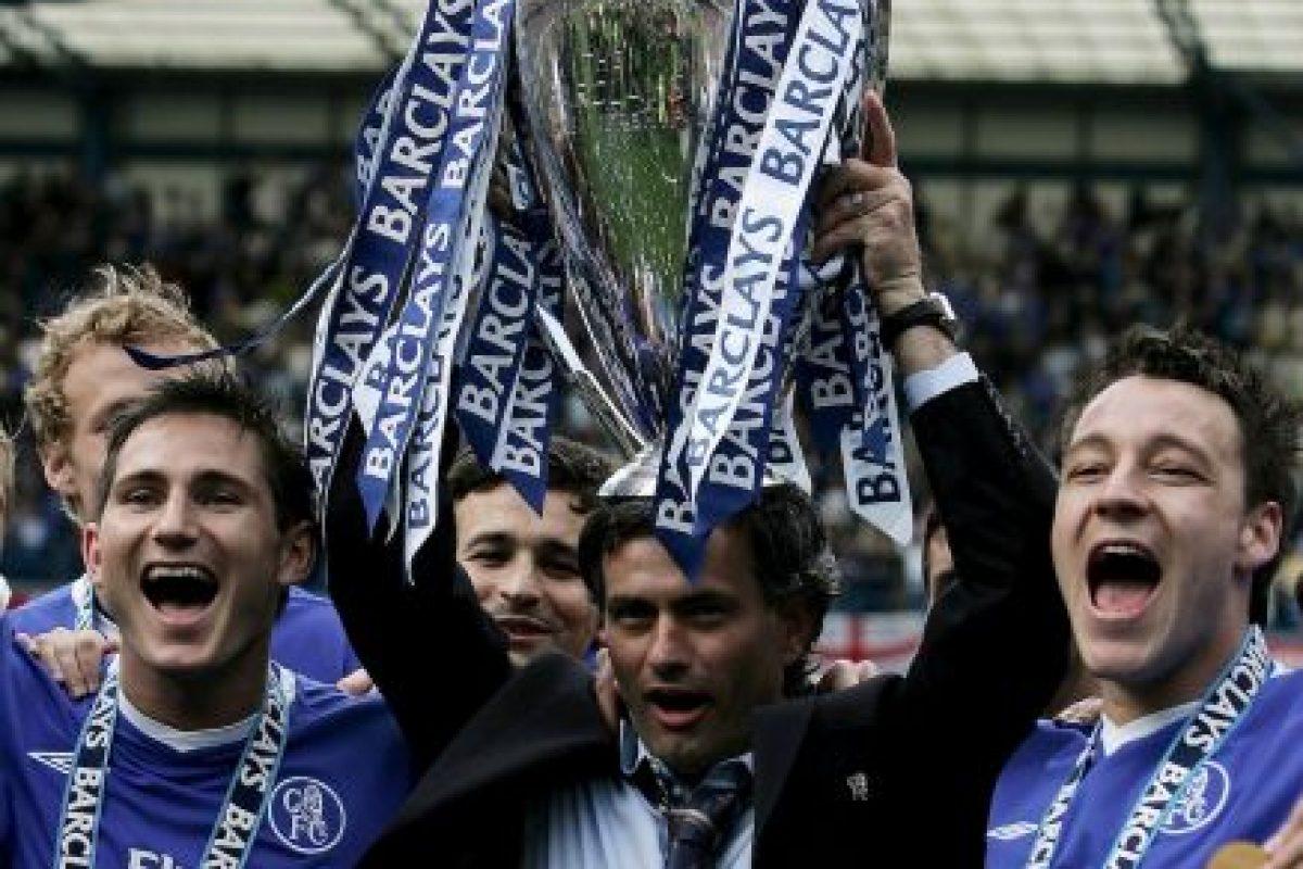 En su primera etapa con Chelsea (de 2004 a 2007), ganó la Premier League de 2005 y 2006, la FA Cup de 2007, la Copa de la Liga Inglesa en 2005 y 2007 y la Community Shield en 2005. Foto:Getty Images