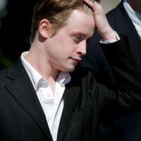Macaulay Culkin. En 2004 por arrestado por posesión de marihuana Foto:Getty Images