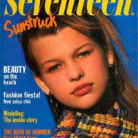 """Milla Jovovich para """"Seventeen"""". Foto:vía Seventeen"""
