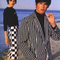 Ian Somerhalder para Versace. Foto:vía Versace
