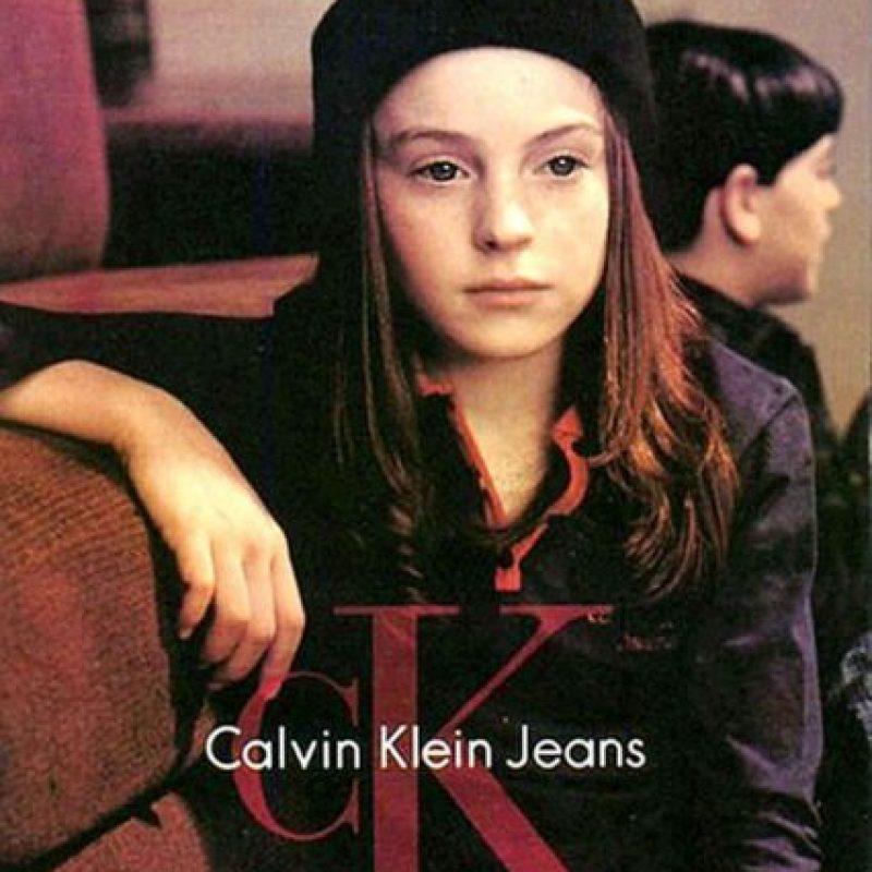 Lindsay Lohan para Calvin Klein. Foto:vía Calvin Klein.