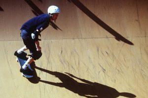 La velocidad promedio de un patinador es de hasta 10 km/h. Sin embargo existen casos de quienes, con las condiciones necesarias, han llegado a los 130 km/h Foto:Getty Images