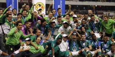 León. Después de 10 años en la segunda división de México, logró el ascenso en 2012 Foto:Getty Images