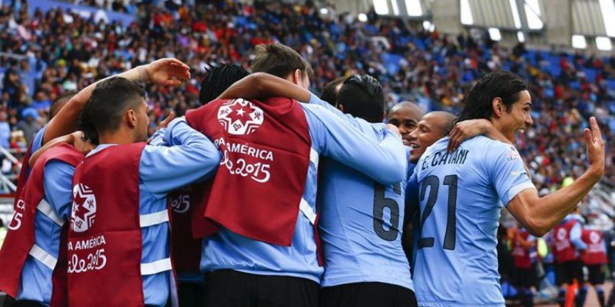 #Chile2015 Uruguay inicia la defensa del cetro con victoria sobre Jamaica