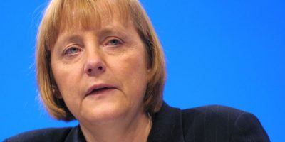 6. Angela Merkel, canciller de Alemania (2001) Foto: Getty Images