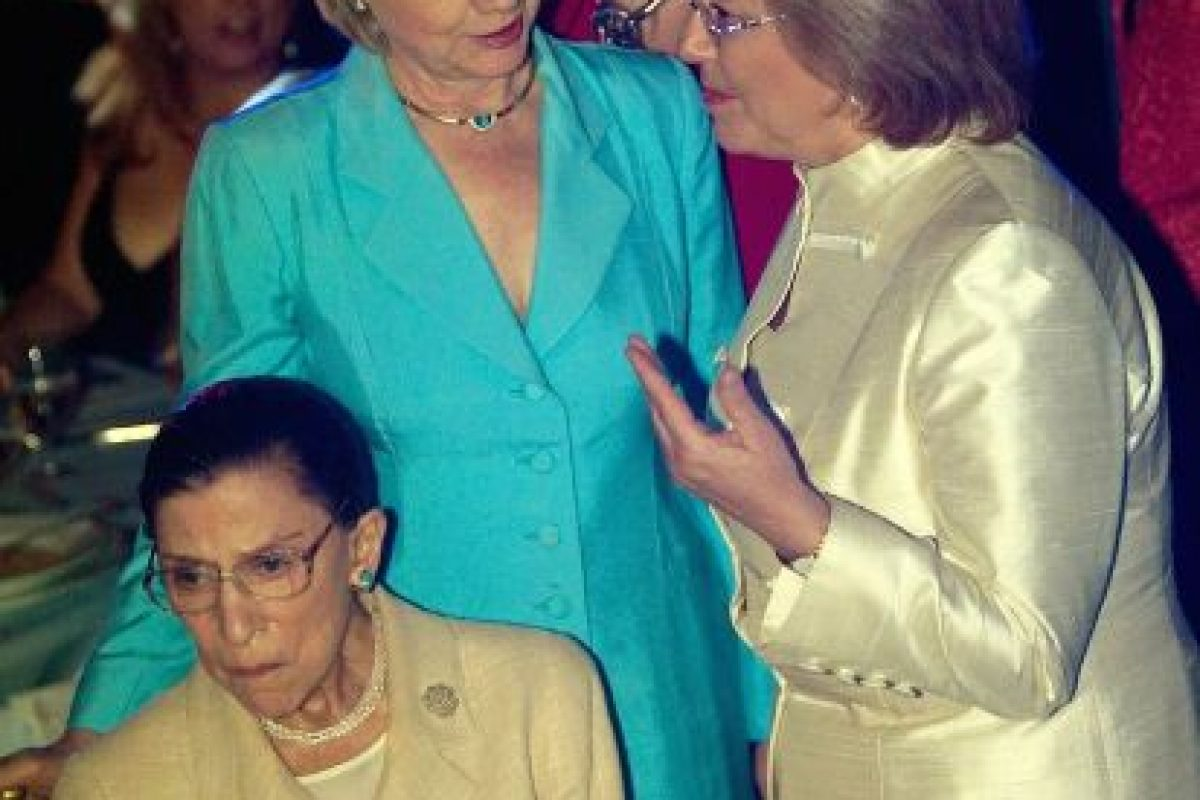 Michelle Bachelet y Hillary Clinton (2006) Foto:Getty Images