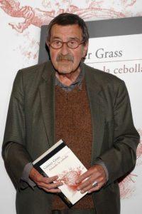 Y el escritor alemán Günter Grass. Foto:Getty Images