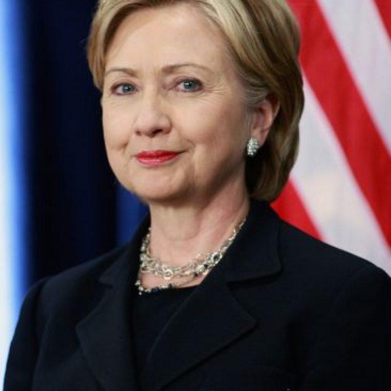 Su nombre completo es Hillary Diane Rodham Clinton. Foto:Getty Images