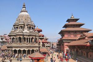La plaza de Bhaktapur Foto:Vía wikimedia.org