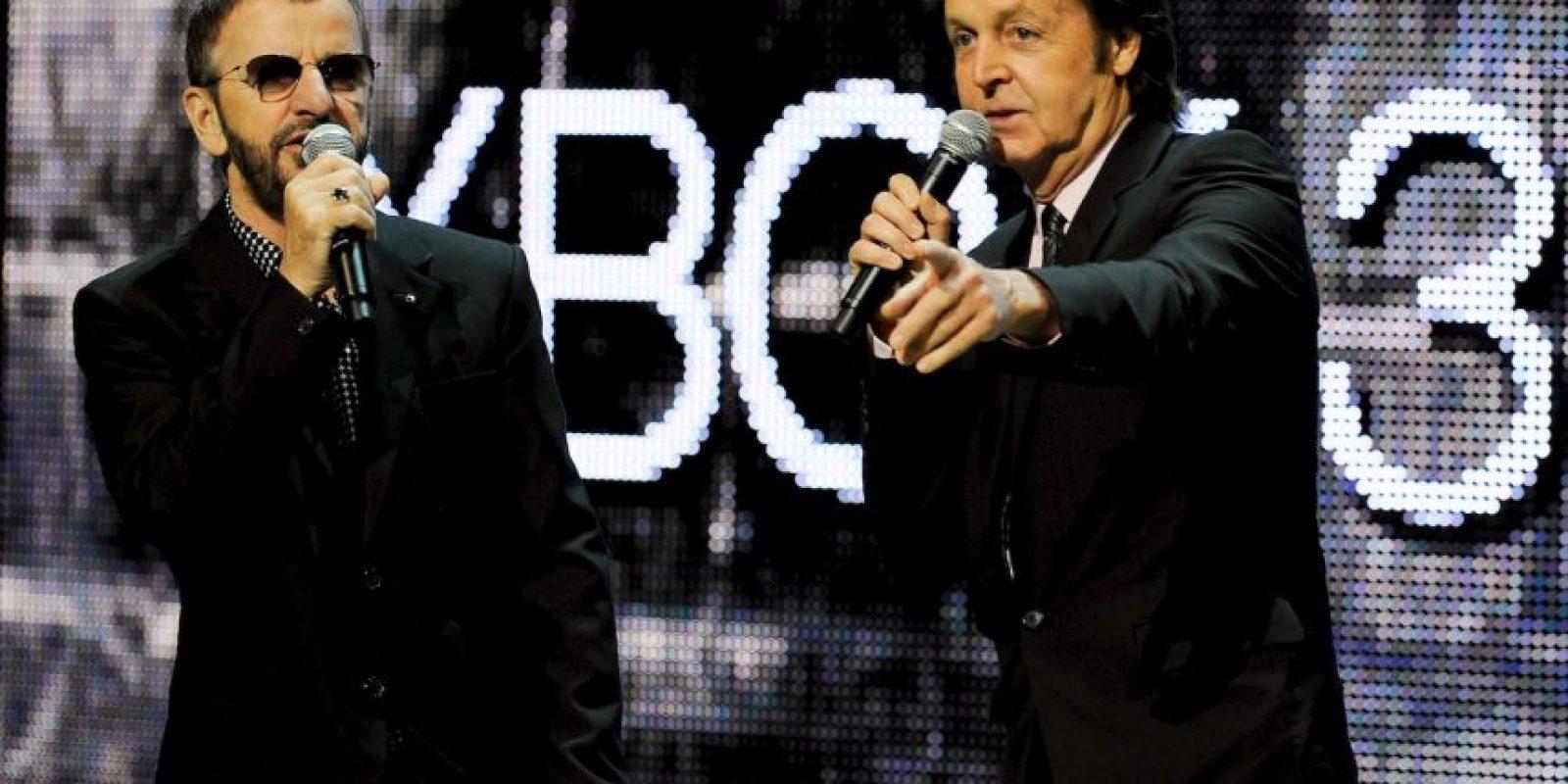 9 de septiembre de 2009: durante la presentación del videojuego The Beatles Rockband Foto:Getty Images
