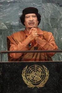 Militar, político y dictador libio. Foto:Getty Images