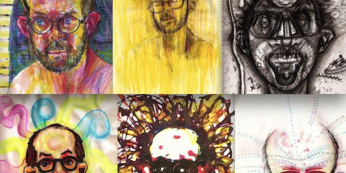 Mira el resultado de las obras de este artista bajo el efecto de las drogas
