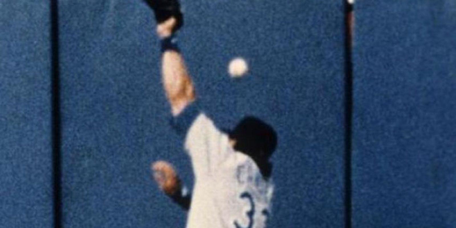 Esta jugada es una de las que más hace recordar la carrera del cubano-americano en las Grandes Ligas. Foto:Publinews