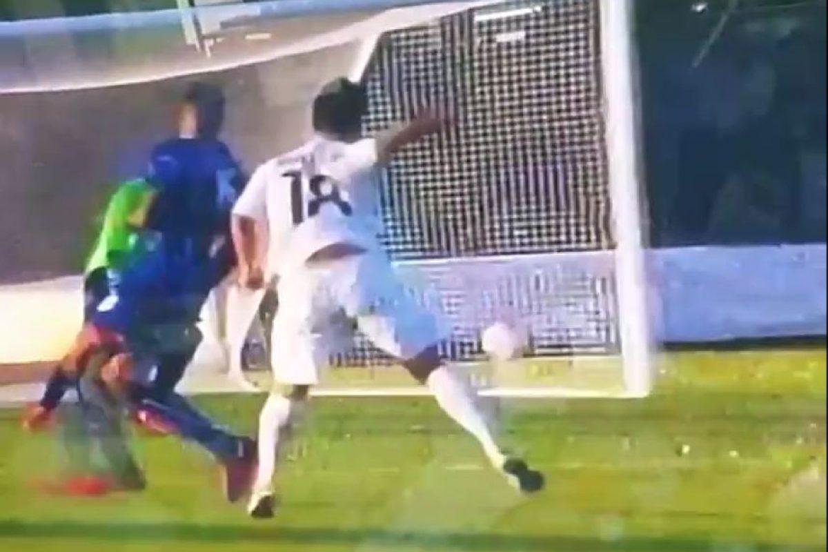 El primer gol de Cincotta con la bicolor decidió el partido en Hamilton. Foto:Publinews