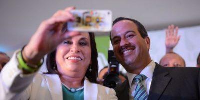 UNE: Sandra Torres y Mario Leal Castillo Foto:Publinews