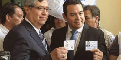 FCN Nación: Jimmy Morales y Jafet Cabrera Foto:Publinews