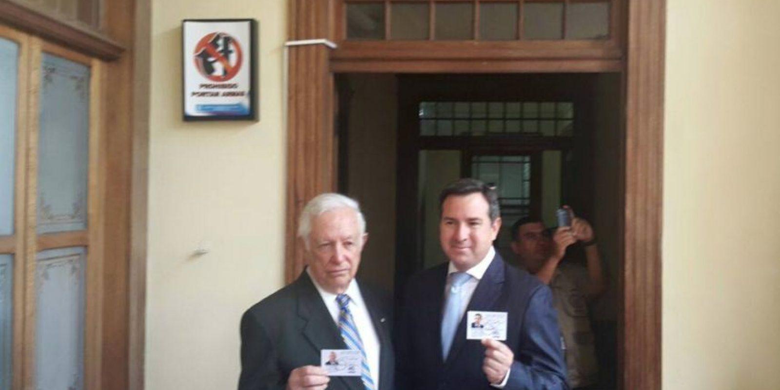 PRI: Luis Fernando Pérez y José Dougherty Foto:Publinews