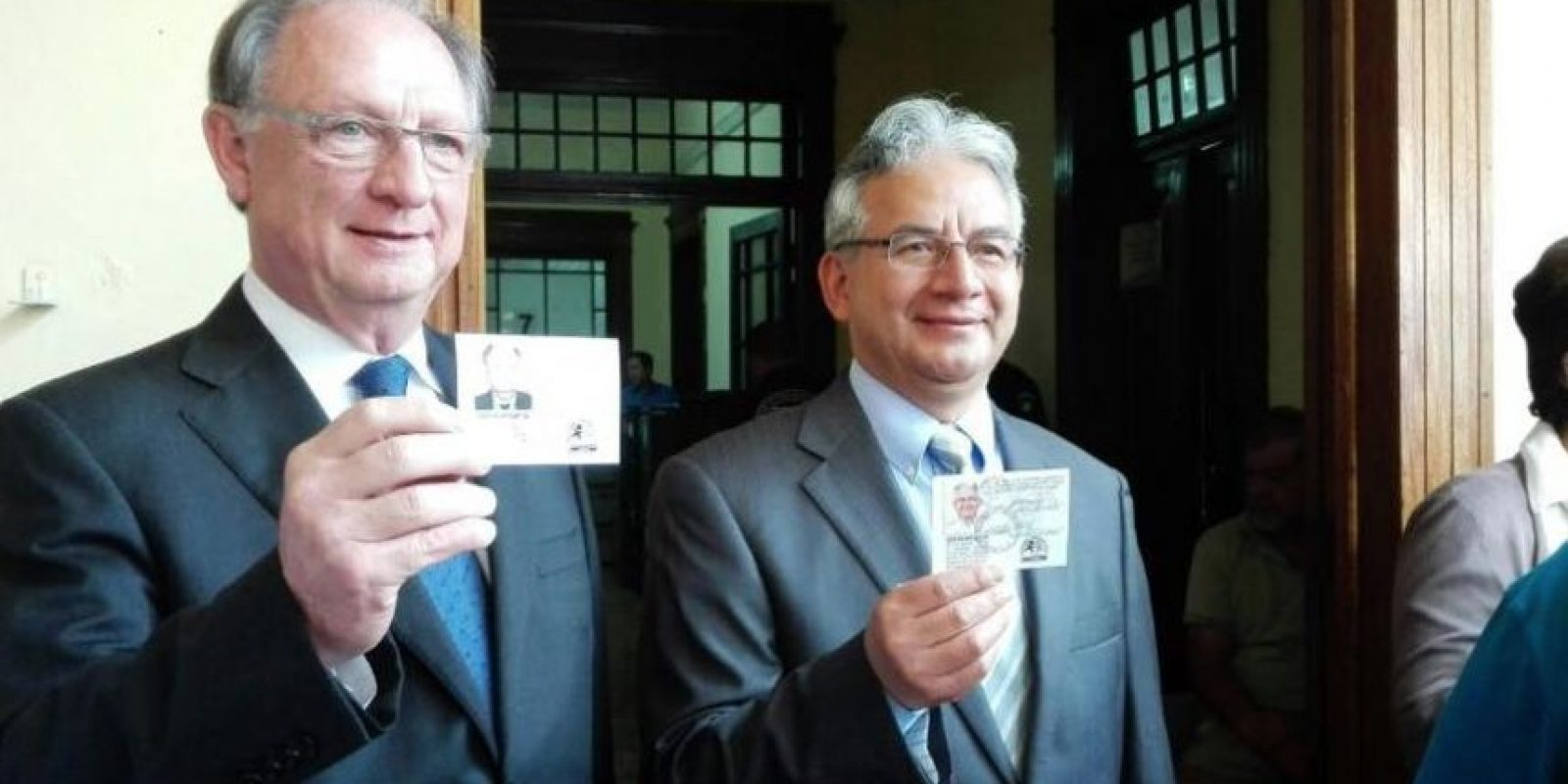 Encuentro por Guatemala: José Ángel López y Peter Lamport Foto:Publinews