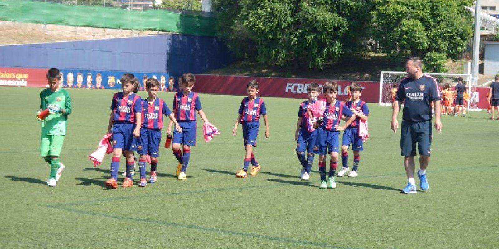 Foto:Cortesía FC Escola Camp Barcelona