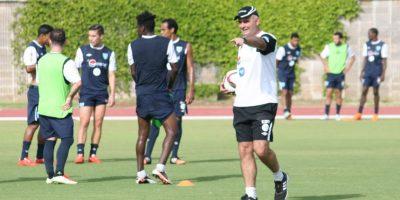 El equipo a cargo del técnico argentino aún no muestra un nivel acorde a la eliminatoria. Foto:ACD