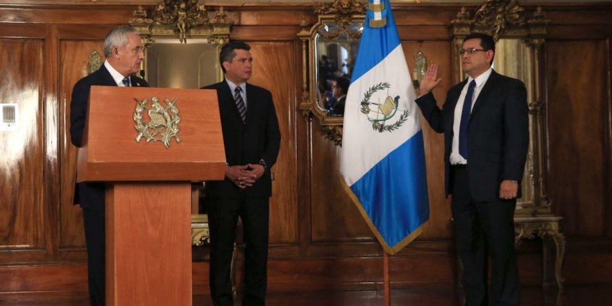 Óscar Medinilla es el nuevo ministro de Ambiente