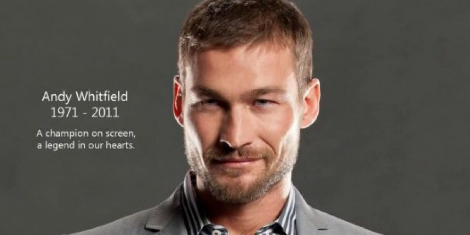 Andy Whitfield en Spartacus Foto: Agencias