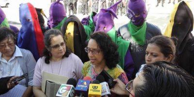 Activistas finalizan huelga de hambre con la que pedían la renuncia de O. Pérez