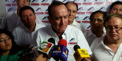 Giammattei buscará la presidencia con partido Fuerza