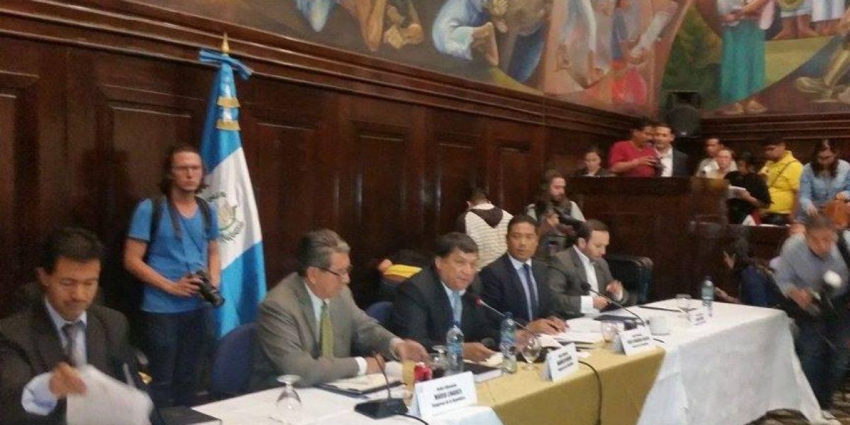 Pop sostiene que Otto Pérez está involucrado en casos de corrupción