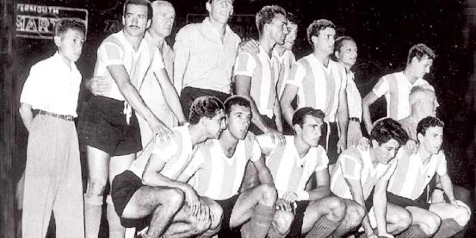 La selección de Argentina en 1957.