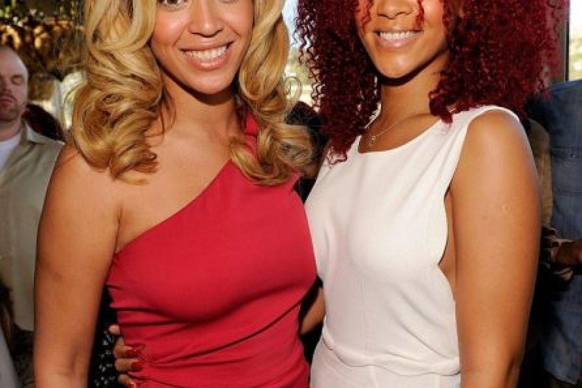 Beyoncé y Rihanna