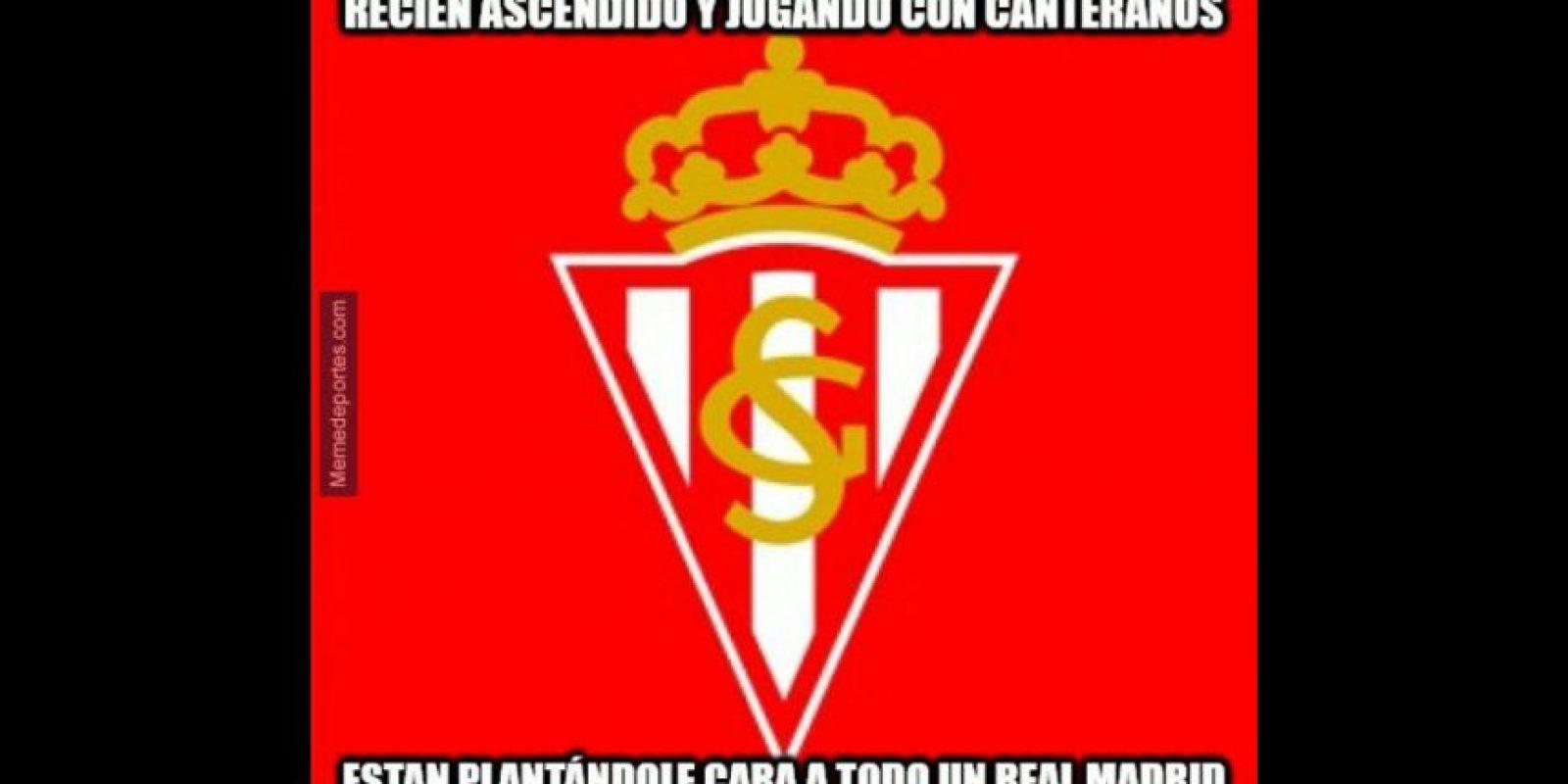 Fue un partido destacado del Sporting de Gijón. Foto:memedeportes.com