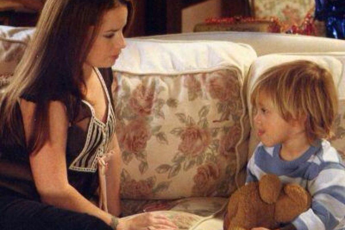 "El primer hijo de ""Piper"" fue ""Wyatt Haliwell"". Foto:vía twitter.com/krissimmons02"