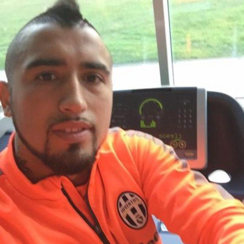 Arturo Vidal (Chile) Foto:Vía instagram.com/vidalofficial