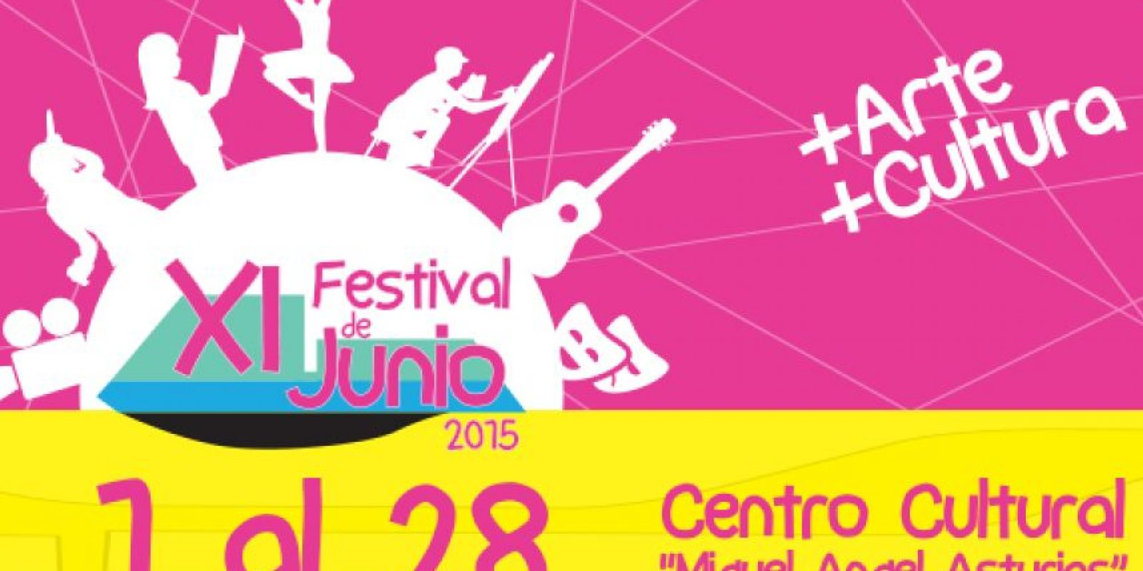 Foto:Cortesía Festival de Junio Centro Cultural Miguel Ángel Asturias