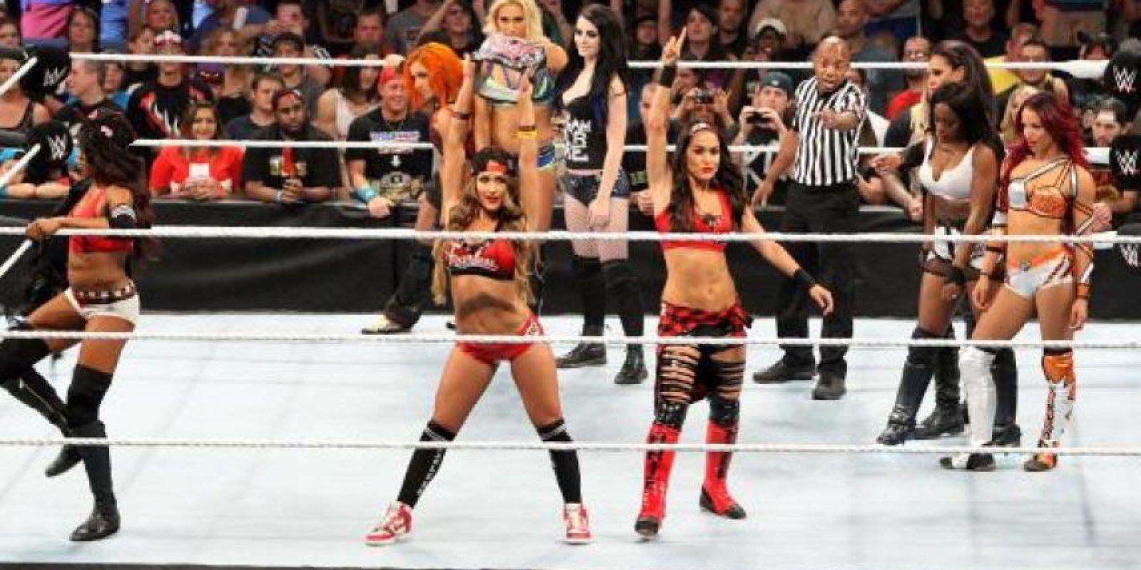 Las divas tendrán una triple amenaza Foto:WWE