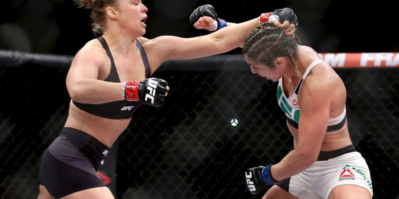 12-0 vs. Bethe Correia en UFC 190. Foto:Getty Images