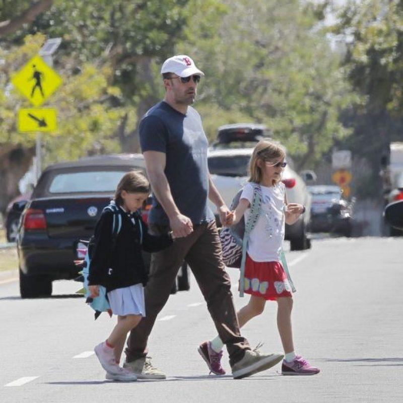 Ben Affleck no tiene una sino dos princesitas. Foto:Grosby Group