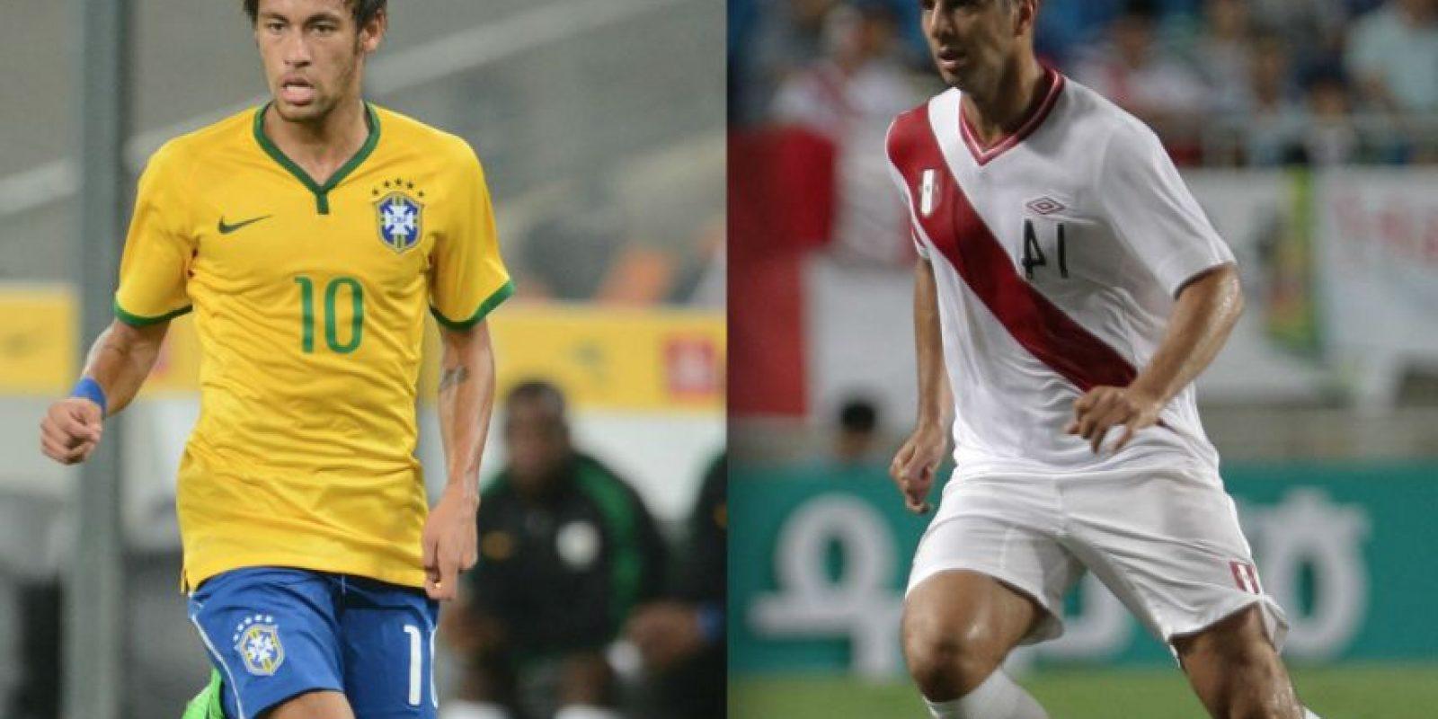Brasil se enfrenta a Perú en la Copa América. Foto:Getty Images
