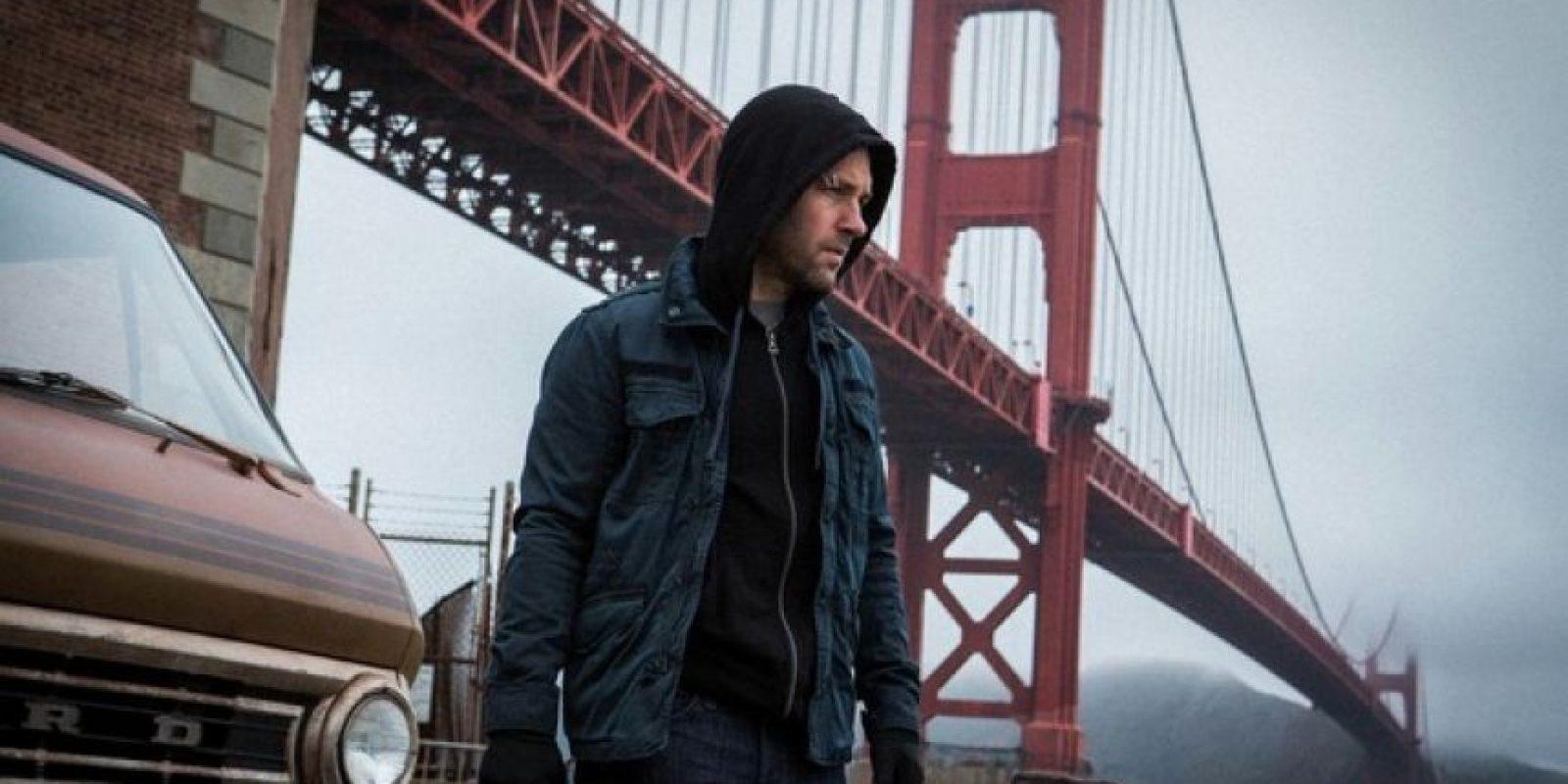"""""""Ant-Man"""" y su mentor, el """"Dr. Hank Pym"""", deberán proteger el secreto de la armadura. Foto:Vía Twitter/AntMan"""