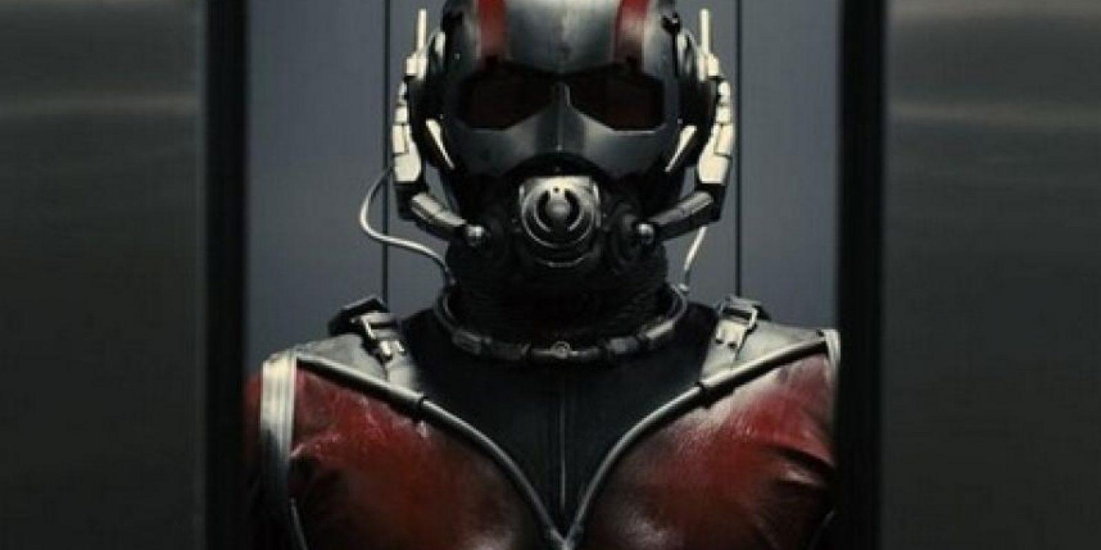 """""""Ant-Man"""" cuenta la historia de un ladrón que tiene la habilidad de encogerse e incrementar su fuerza Foto:Vía Twitter/AntMan"""