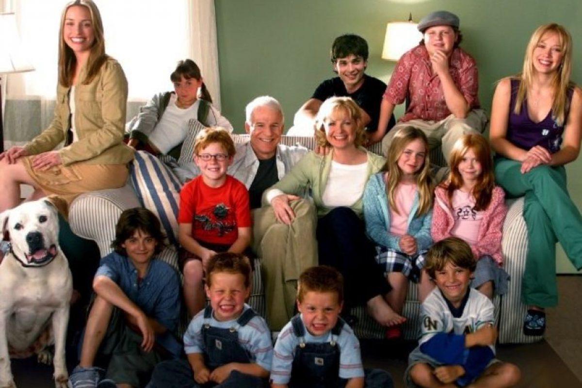 """Así luce ahora el elenco de """"Más barato por docena"""" Foto:IMDB"""